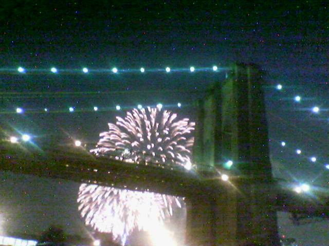 nyc fireworks (independence day)