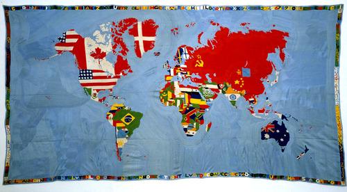 Mappa by Boetti - MoMA