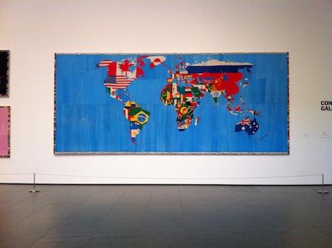 Mappa by Boetti