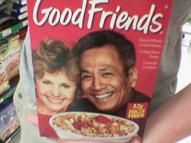 good cereal breeds good friends