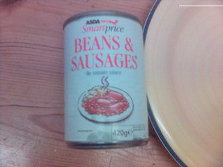 asda smartprice beans and sausages