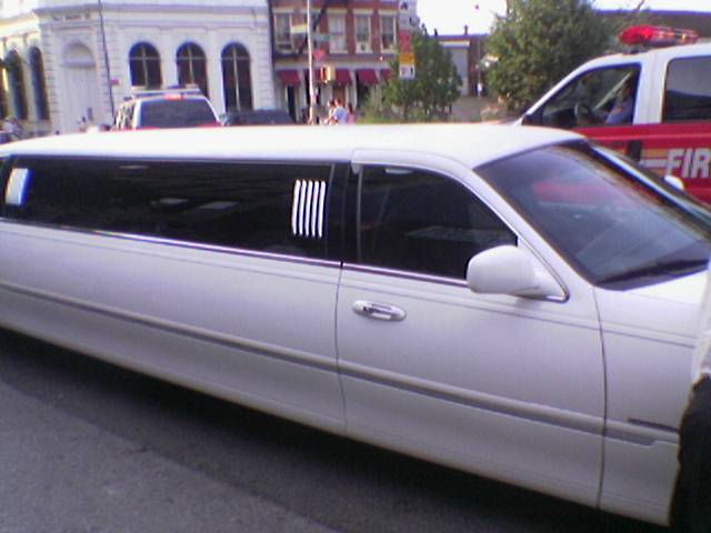 oh yeah, forgot about the limo